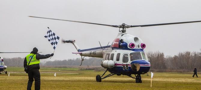 36-й Чемпионат Украины по вертолетному спорту на аэродроме Коротич