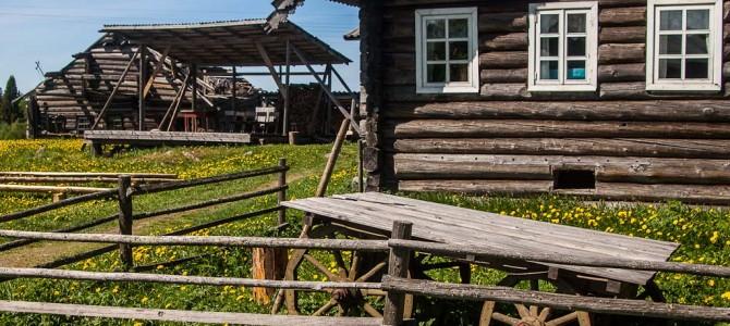 Ладога-Трофи 2013. День пятый. Местные дома и лесопилка.