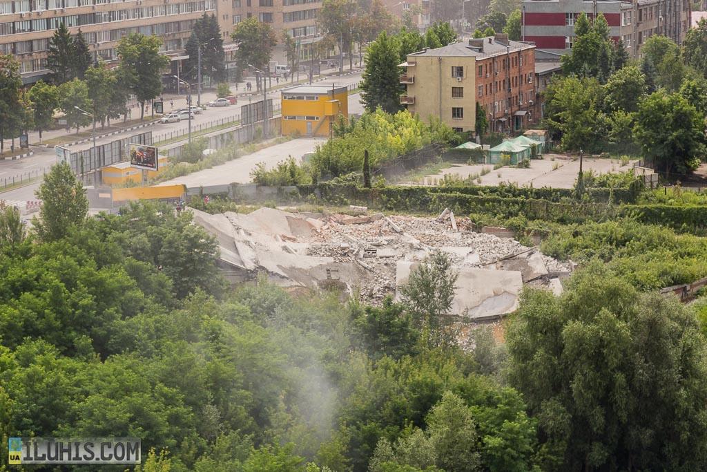 Взрыв дома в Харькове